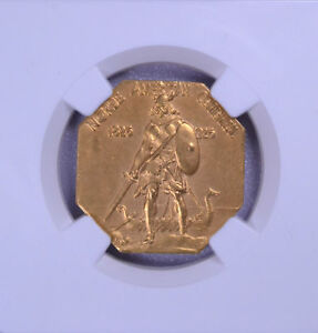 Click now to see the BUY IT NOW Price! 1925 NORSE AMERICAN MEDAL GOLD NGC PF 65 MATTE 4194456 003