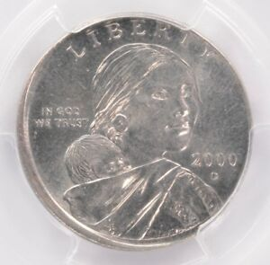 Click now to see the BUY IT NOW Price! PCGS $1 2000 D SACAGAWEA DOLLAR STRUCK ON FOREIGN PLANCHET MS62