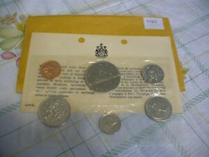 Click now to see the BUY IT NOW Price! 1969  CANADA   PROOF  LIKE SET  COINS  DOLLAR  HALF DOLLAR QUARTER  DIME NICKEL