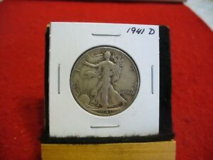 Click now to see the BUY IT NOW Price! 1941 D   WALKER  LIBERTY WALKING  HALF  DOLLAR      50 CENT PIECE   COIN  41D