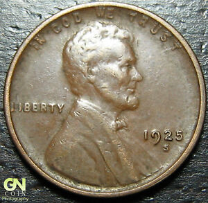 1925 S LINCOLN CENT WHEAT PENNY      MAKE US AN OFFER   Y9199