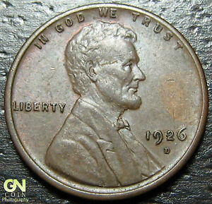 1926 D LINCOLN CENT WHEAT PENNY      MAKE US AN OFFER   Y9205