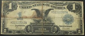 Click now to see the BUY IT NOW Price! 1899 $1 BLACK EAGLE SILVER CERTIFICATE NOTE   FR235