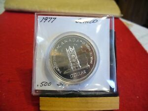 Click now to see the BUY IT NOW Price! 1977   CANADA  SILVER   ONE  DOLLAR  COIN   1$   HIGH  GRADE   77   SEALED