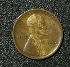 Click now to see the BUY IT NOW Price! 1909 S LINCOLN WHEAT CENT PENNY   WOOD GRAIN EFFECT  IMPROPER MIX OF ALLOY