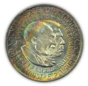 Click now to see the BUY IT NOW Price! WASHINGTON CARVER 1954 D 50C SILVER COMMEMORATIVE PCGS MS67 POP 1
