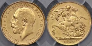 Click now to see the BUY IT NOW Price! SOUTH AFRICA 1924 PRETORIA SOVEREIGN   PCGS MS61