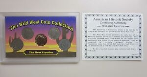 WILD WEST COLLECTION NEW FRONTIER LIBERTY NICKELS SEALED