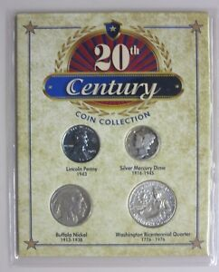 20TH CENTURY COIN COLLECTION SET