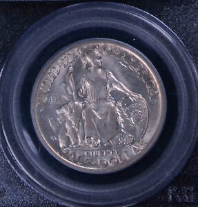 1935 S 50C SAN DIEGO COMMEMORATIVE HALF DOLLAR PCGS & CAC MS 65 13646046
