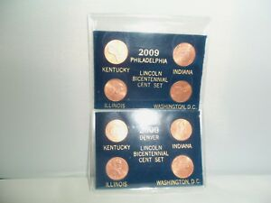 2009 LINCOLN BICENTENNIAL CENT SET