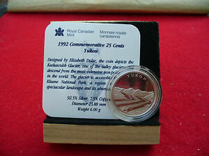 Click now to see the BUY IT NOW Price! 1992   25 CENT   COMMEMORATIVE PROOF QUARTER     YUKON