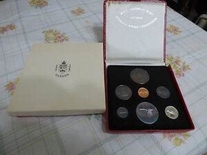 Click now to see the BUY IT NOW Price! 1967  RCM  COIN SET  PROOF  DOLLAR 1$ FIFTY CENT QUARTER DIME STERLING TOKEN
