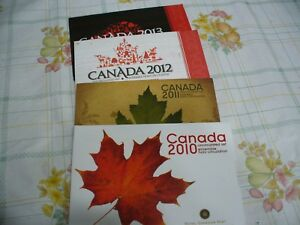 Click now to see the BUY IT NOW Price! LOT OF 4   2010 2013   CANADA   PROOF LIKE  SETS   DOLLAR HALF QUARTER DIME