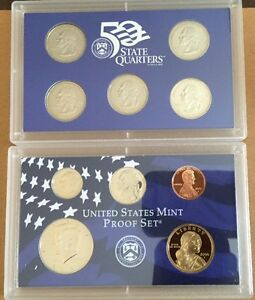 50 STATE QUARTERS UNITED STATES MINT PROOF SET 2000