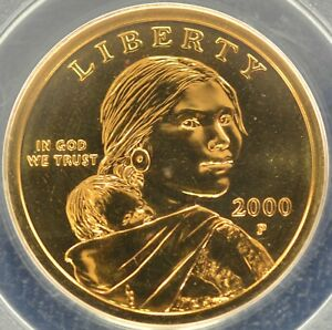 Click now to see the BUY IT NOW Price! 2000 $1 SACAGAWEA DOLLAR GOODACRE PRESENTATION PCGS MS 67 2828153