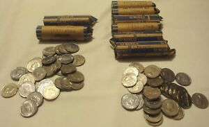 COLLECTION OF KING GEORGE QUEEN ELIZABETH ROLLS CANADIAN NICKELS 1937 1964 LOT