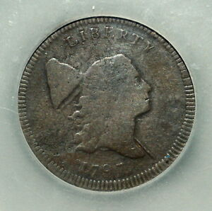 1797 LIBERTY CAP HALF CENT  VF FINE  DOUBLE STRUCK STRIKE 1/2C TRUSTED