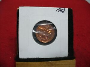 1982  CANADA  1  CENT COIN  PENNY  PROOF LIKE  HIGH  GRADE  SEALED  SEE PHOTOS