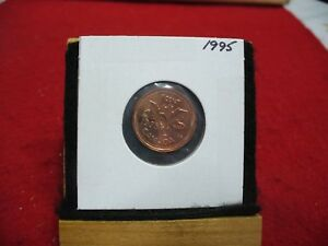 1995  CANADA  1  CENT COIN  PENNY  PROOF LIKE  HIGH  GRADE  SEALED  SEE PHOTOS