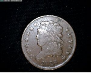 1828 HALF CENT CLASSIC HEAD NICELY DETAILED 13 STARS 4720