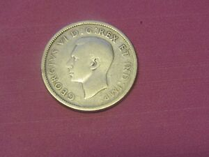 1939 CANADA 25 CENTS SILVER
