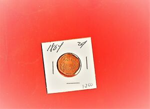 1864 TWO CENT VERY  & ANTIQUE 1260