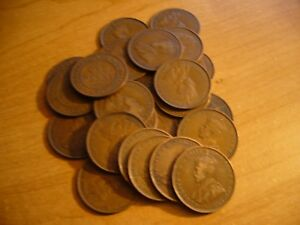 1911 TO 1964 AUSTRALIA ONE PENNY UR CHOICE OF 3 FROM LIST FOR PRICE POSTED BELOW