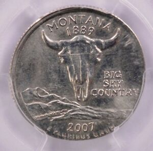 Click now to see the BUY IT NOW Price! PCGS 25C 2007 D MONTANA QUARTER ON NICKEL DOUBLE DENOMINATION MS64