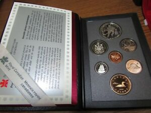 1993 CANADA COINAGE PROOF SET   ROYAL CANADIAN MINT
