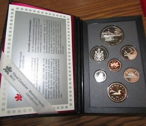 1991 CANADA COINAGE PROOF SET   ROYAL CANADIAN MINT