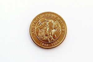 AUSTRALIA FREEDOM MEDALLION REMEMBERS COIN 1945 1996 EXCELLENT CONDITION