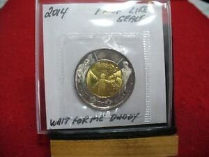 2014  CANADA 2$ TWO  DOLLAR  COIN  TOONIE  SEE PHOTOS  14C  PROOF LIKE  SEALED
