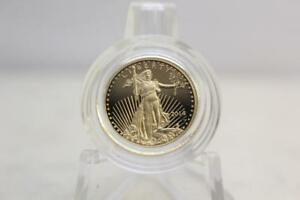 2014 $5 1/10 OZ GOLD AMERICAN EAGLE PROOF COIN WITH DISPLAY BOX