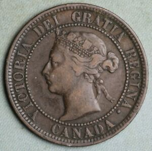 1888 CANADA LARGE CENT  FREE US SHIPPING