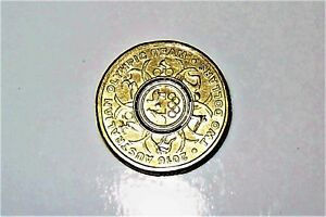 AUSTRALIA $2 OLYMPIC TEAM COIN  PRINTING FAULT COLOUR ERROR