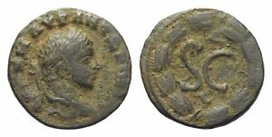 GC490    ROMAN PROVINCIAL   BRONZE / 2.8  GR / 17 MM