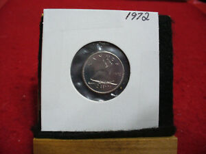 1972 CANADA  DIME  10 CENTS    TOP GRADE  72  PROOF LIKE  SEALED  SEE PHOTOS
