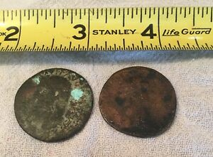 ANTIQUE ROMAN COINS   CLAUDIUS I & TROJAN COIN ??
