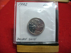 Click now to see the BUY IT NOW Price! 1992 CANADA QUARTER  DOLLAR TOP GRADE  25 CENT PIECE  92  PROOF LIKE  SEALED