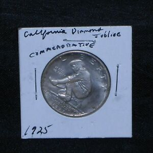 COMMEMORATIVE COIN CALIFORNIA DIAMOND JUBILEE