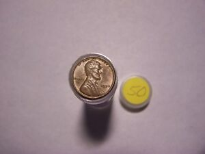 ROLL OF 1950 LINCOLN WHEATS CIRCULATED