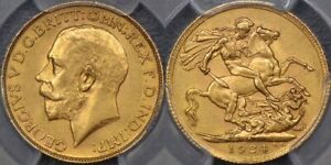Click now to see the BUY IT NOW Price! SOUTH AFRICA 1924 PRETORIA SOVEREIGN   PCGS MS62