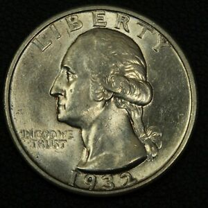 Click now to see the BUY IT NOW Price! 1932 S GEORGE WASHINGTON SILVER QUARTER   GORGEOUS