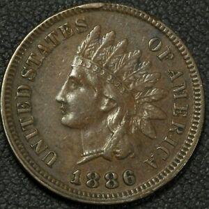Click now to see the BUY IT NOW Price! 1886 CUD ERROR CU 1C 1886 002 PLATE COIN FOR THIS CUD    TYPE 1 INDIAN HEAD CENT
