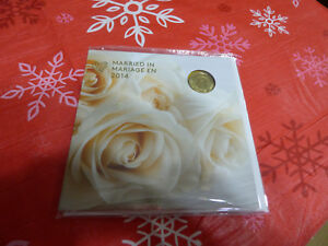 Click now to see the BUY IT NOW Price! 2014  CANADA MARRIED IN COIN GIFT SET WITH   LIMITED EDITION  LOONIE SEALED DOVE