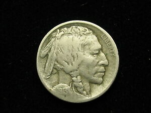 BEAUTIFUL U.S. SEMI KEY DATE 1913 D BUFFALO NICKEL IN COLLECTIBLE CONDITION 60Z