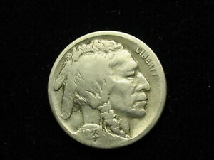 BEAUTIFUL U.S. SEMI KEY DATE 1923 S BUFFALO NICKEL IN COLLECTIBLE CONDITION 80Z