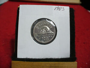 1983  CANADA  1  NICKEL 5 CENTS  COIN  PROOF LIKE SEALED  83   HIGH  GRADE