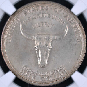 Click now to see the BUY IT NOW Price! 1935 50C SPANISH TRAIL COMMEMORATIVE HALF DOLLAR   NGC MS67 4672307 068